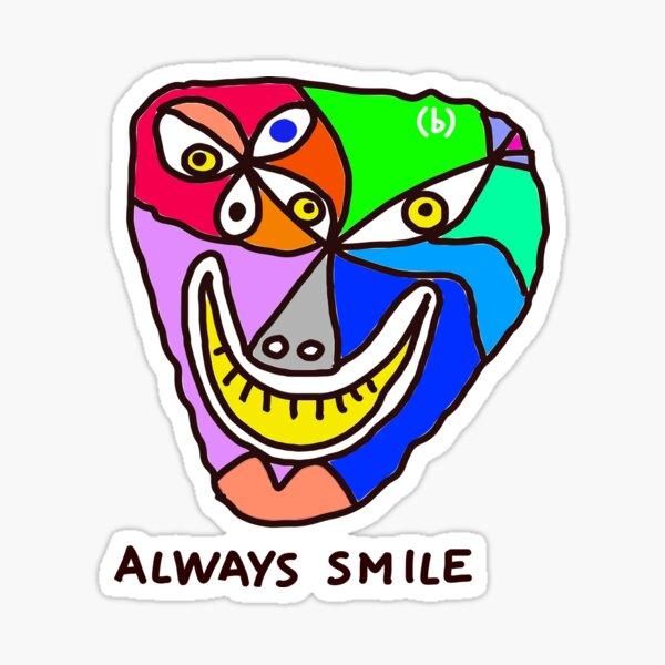 Always Smile (monster) Sticker