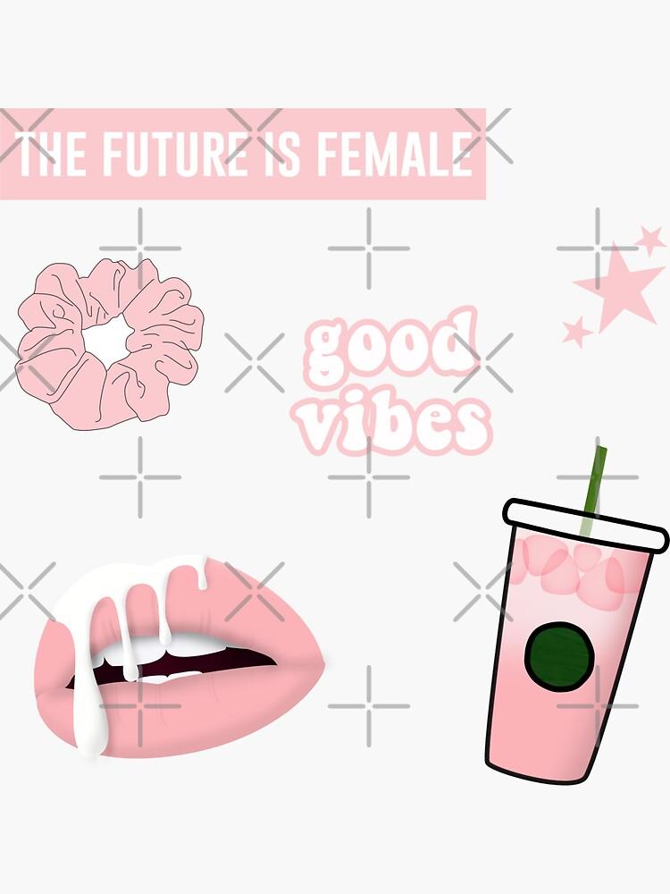 Light Pink Sticker Pack by abbyjane325