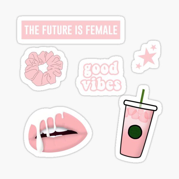 Light Pink Sticker Pack Sticker