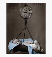 Weighing On My Heart Photographic Print