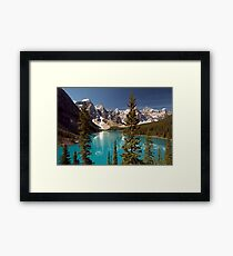 Lake Louise 2 Golden Images Framed Print