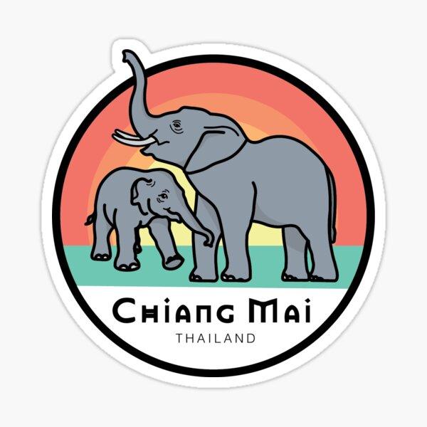 Chiang Mai, Thailand. Sticker