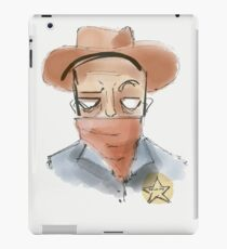 THE SHERIFF iPad Case/Skin