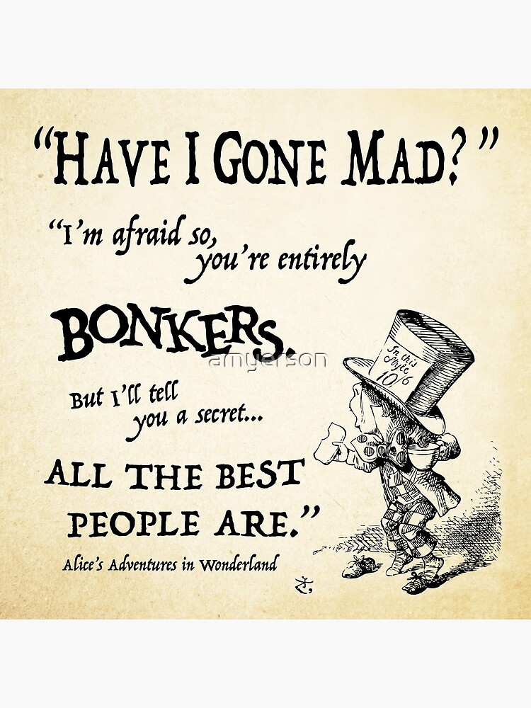 Alice in Wonderland Quote by amyerson
