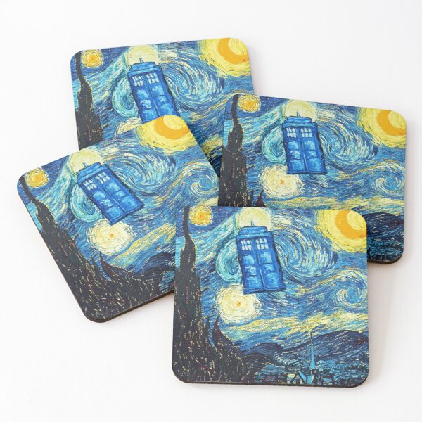 Starry Night Coasters (Set of 4)