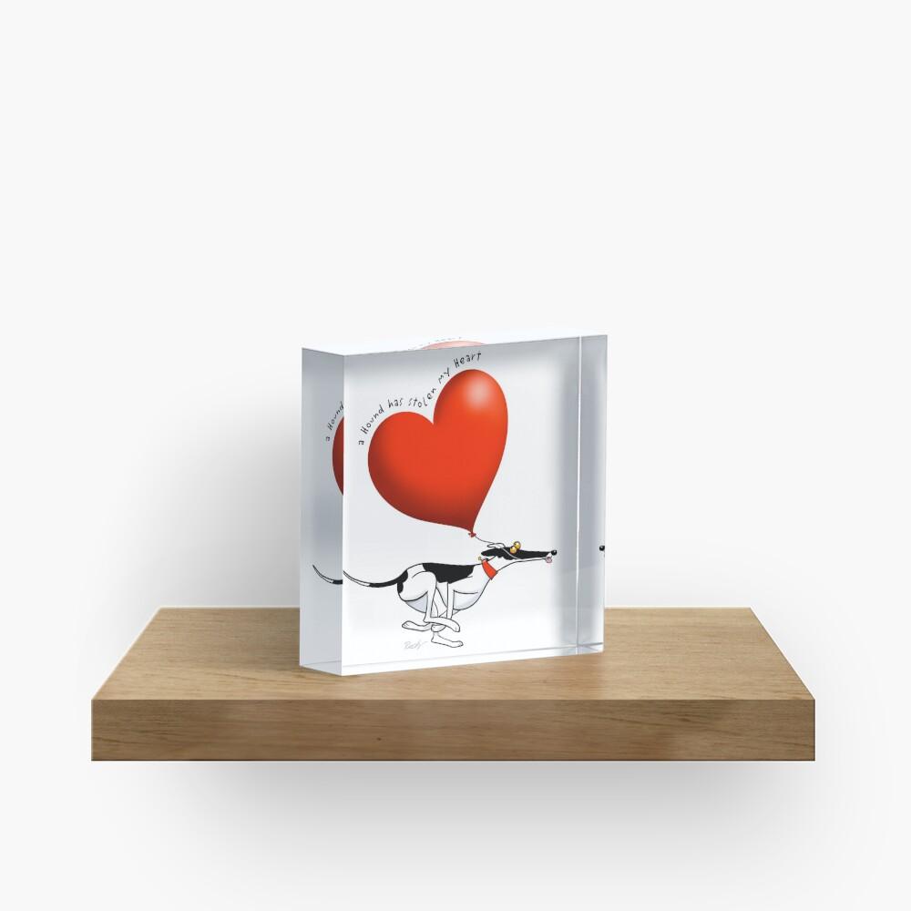 Stolen Heart - cowhound Acrylic Block