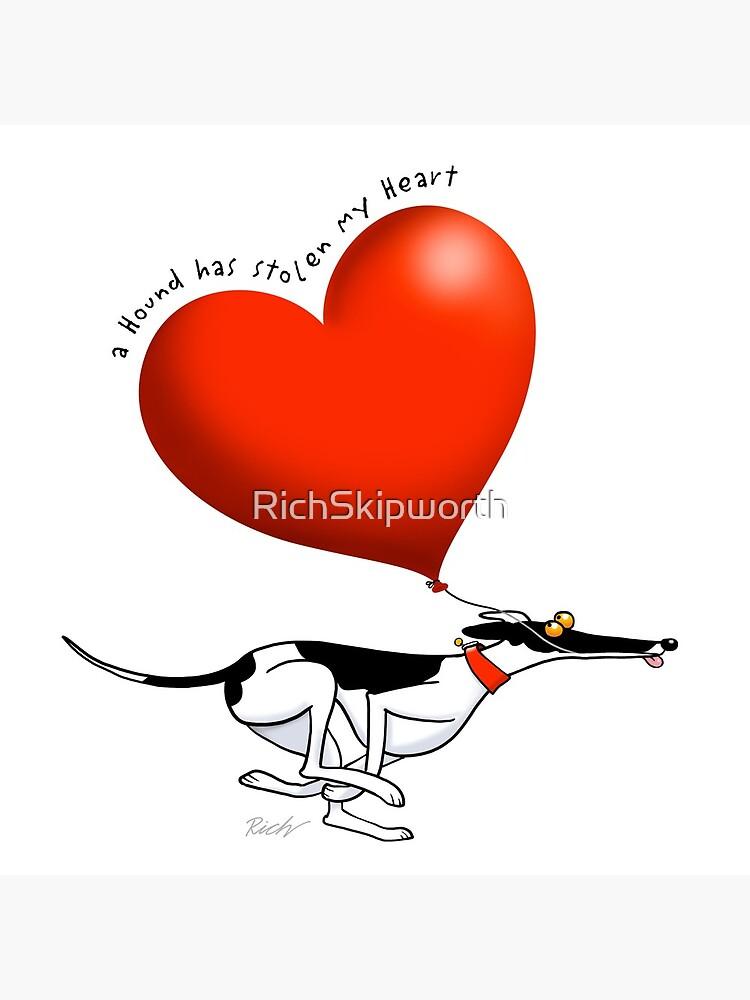 Stolen Heart - cowhound by RichSkipworth
