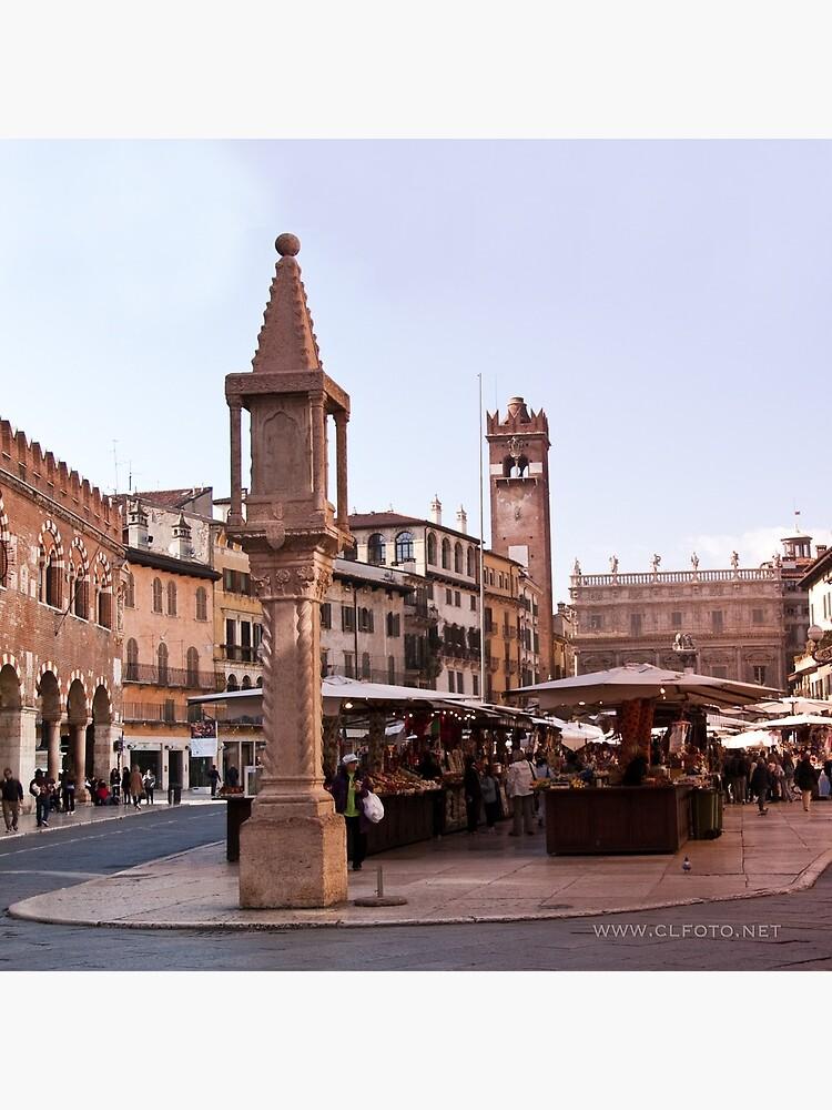 In Piazza Erbe, Verona, Italy by leemcintyre