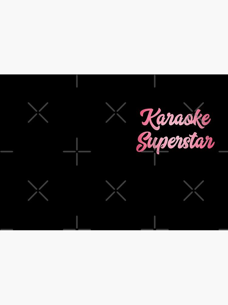 Karaoke Superstar  - Singer Host Gift Idea  by LJCM