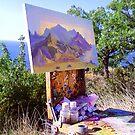 Art studio is the nature by kindangel