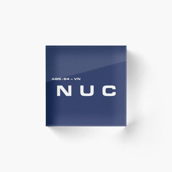 2001 A Space Odyssey - HAL 900 NUC System Acrylic Block