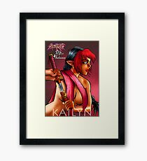 Girls of Azerath - Miss Autumn Framed Print