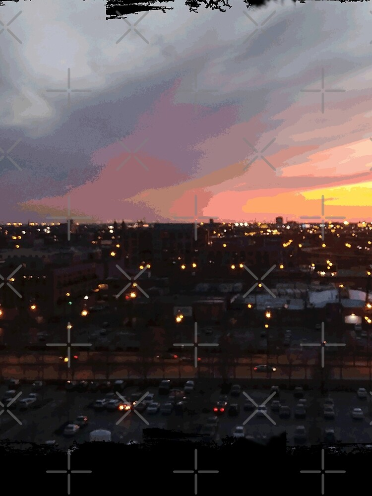 Sunset - April 6, 2018 7:34PM. by someartworker