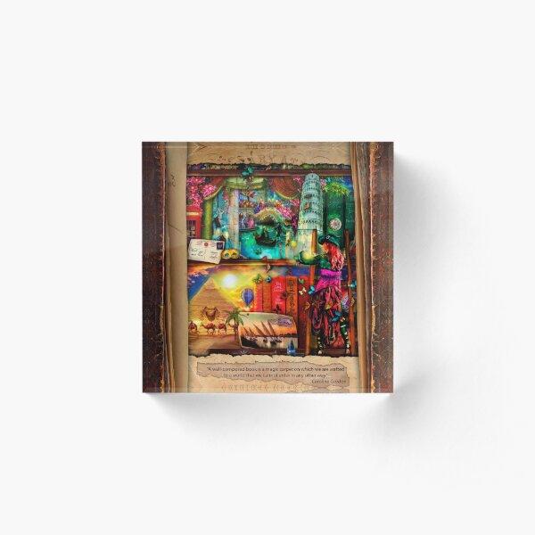 The Curious Library Calendar - November Acrylic Block
