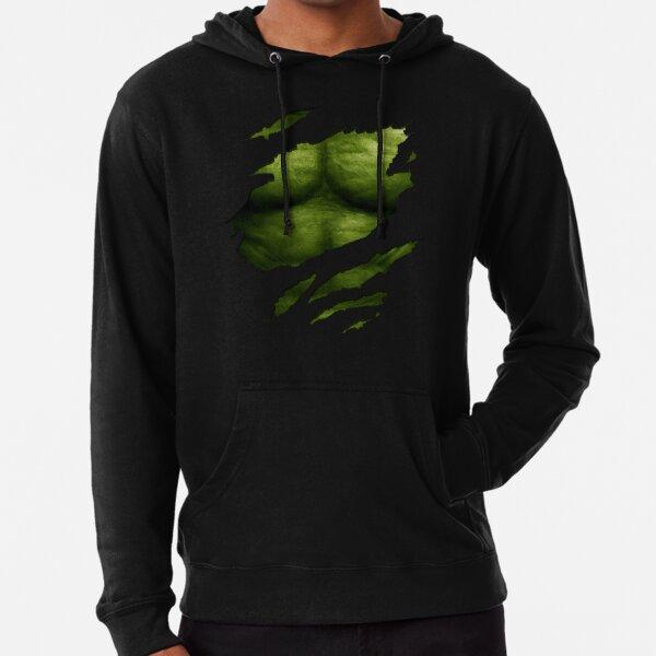 Hulk Hoodie The Incredible Hulk Smash Angry Hood Jumper Marvel Comics Avengers