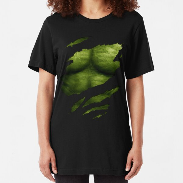 The Incredible Green Super Soldier Slim Fit T-Shirt