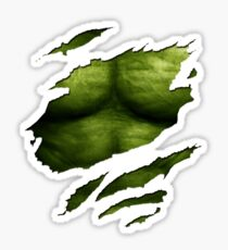 The Incredible Green Super Soldier Sticker