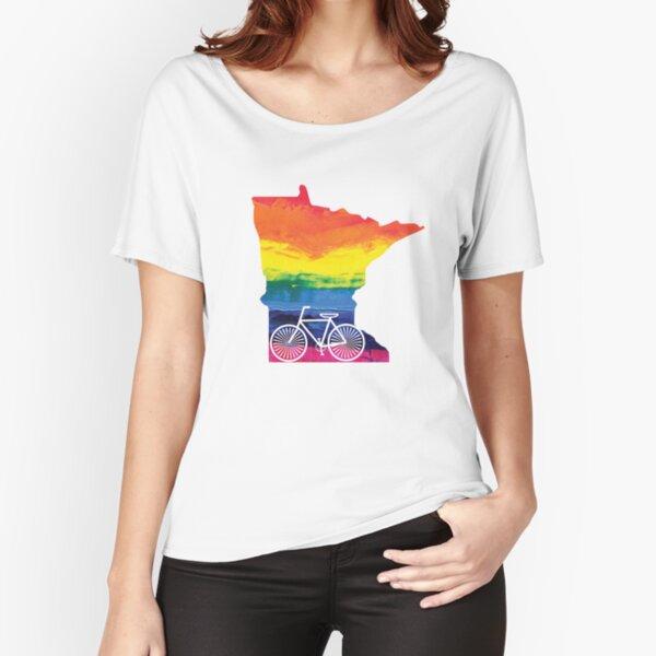Minnesota Pride Bike Relaxed Fit T-Shirt