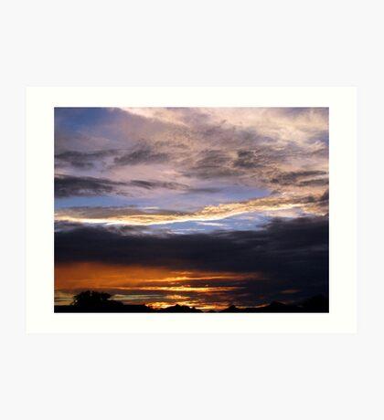 Arizona Sunset ~2 Art Print