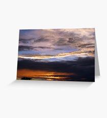 Arizona Sunset ~2 Greeting Card