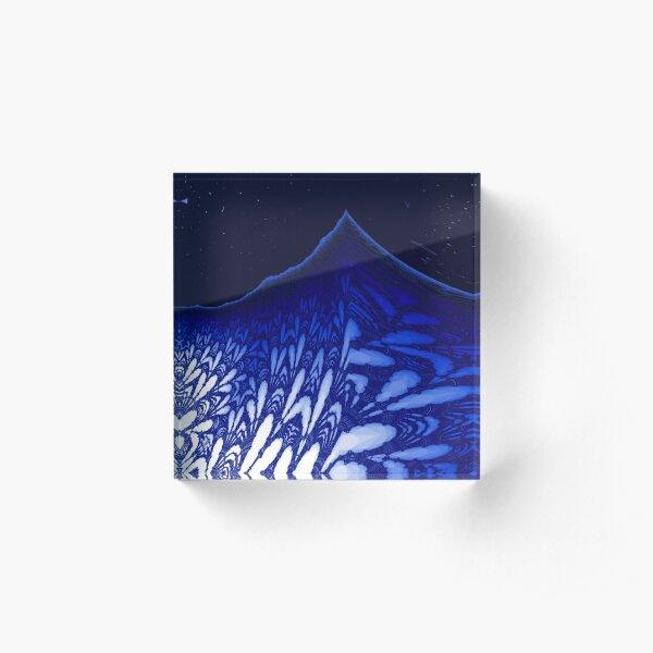 Glacial Peak Acrylic Block