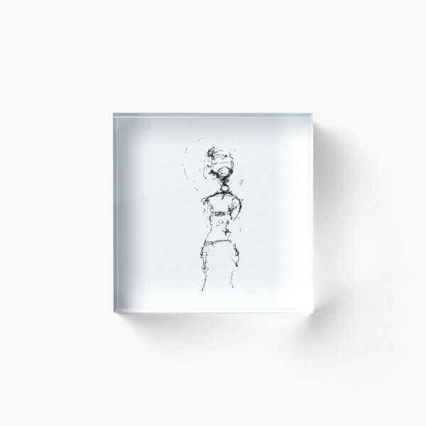 Dancing Acrylic Block