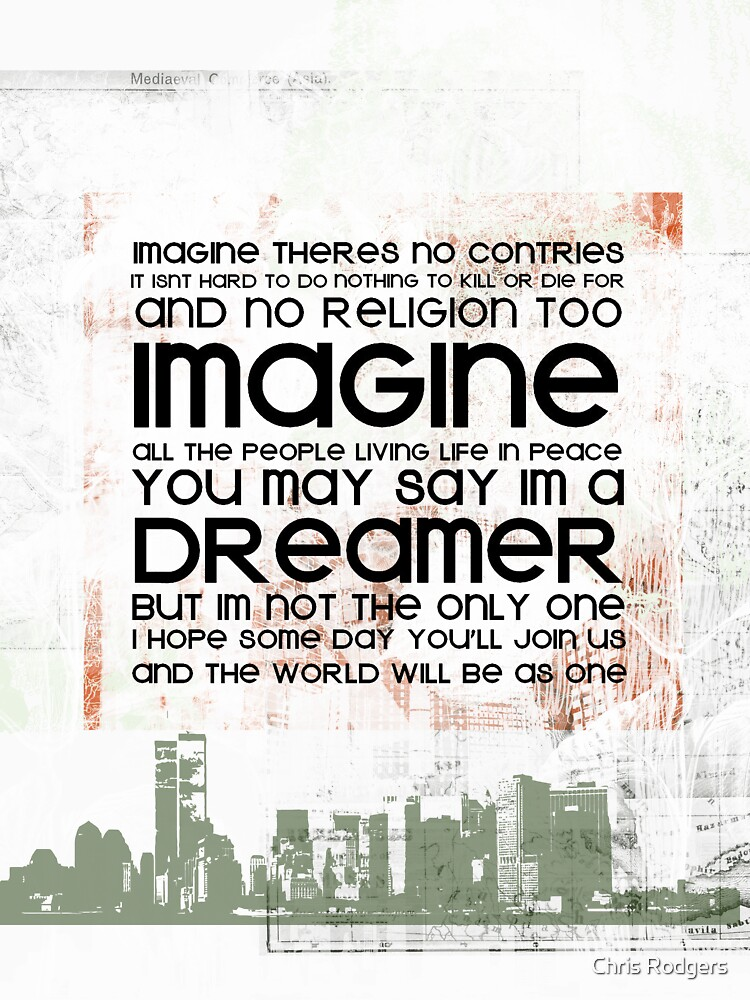 Imagine All The People | V-Neck