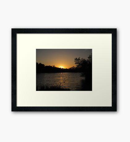 Arizona Sunset ~10 Framed Print