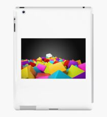 colourful blocks iPad Case/Skin