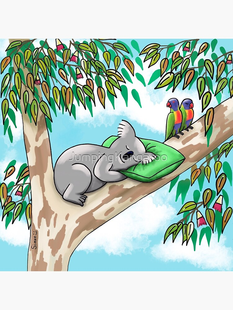 Sweet Dreams Sleepy Koala by JumpingKangaroo