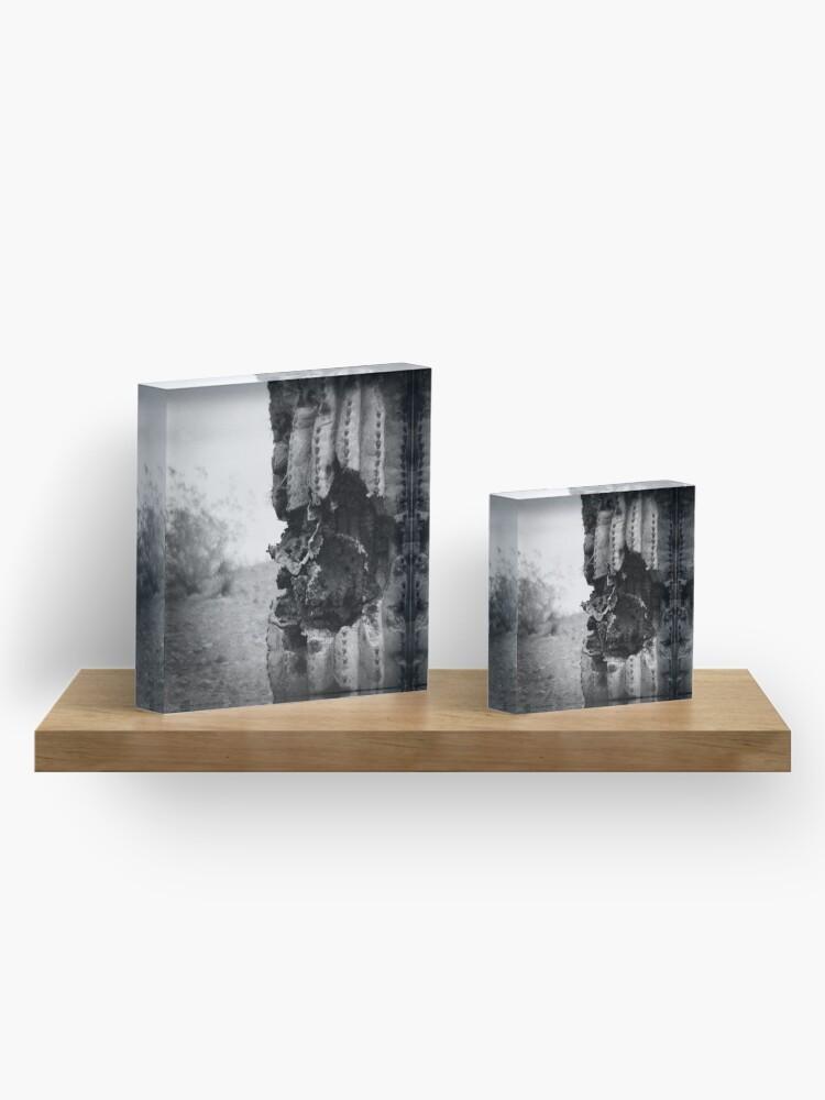 Alternate view of Once Bitten Acrylic Block