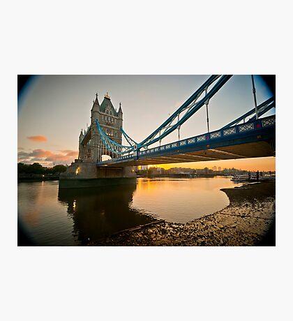 Sunrise at Tower Bridge. London. UK. Photographic Print