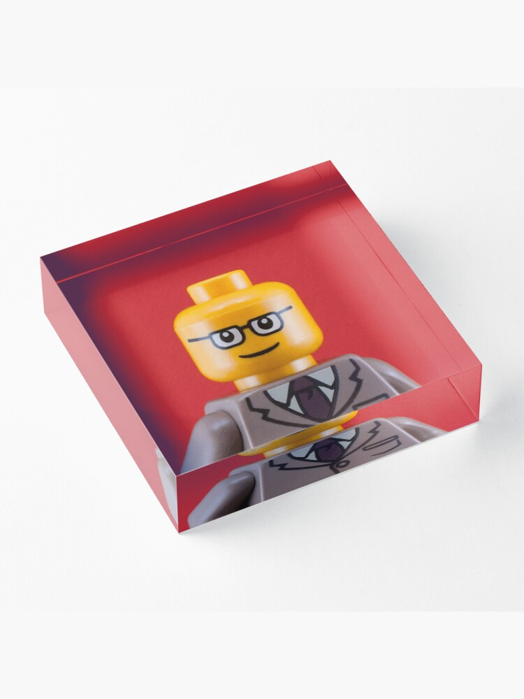 Alternate view of George Portrait Acrylic Block