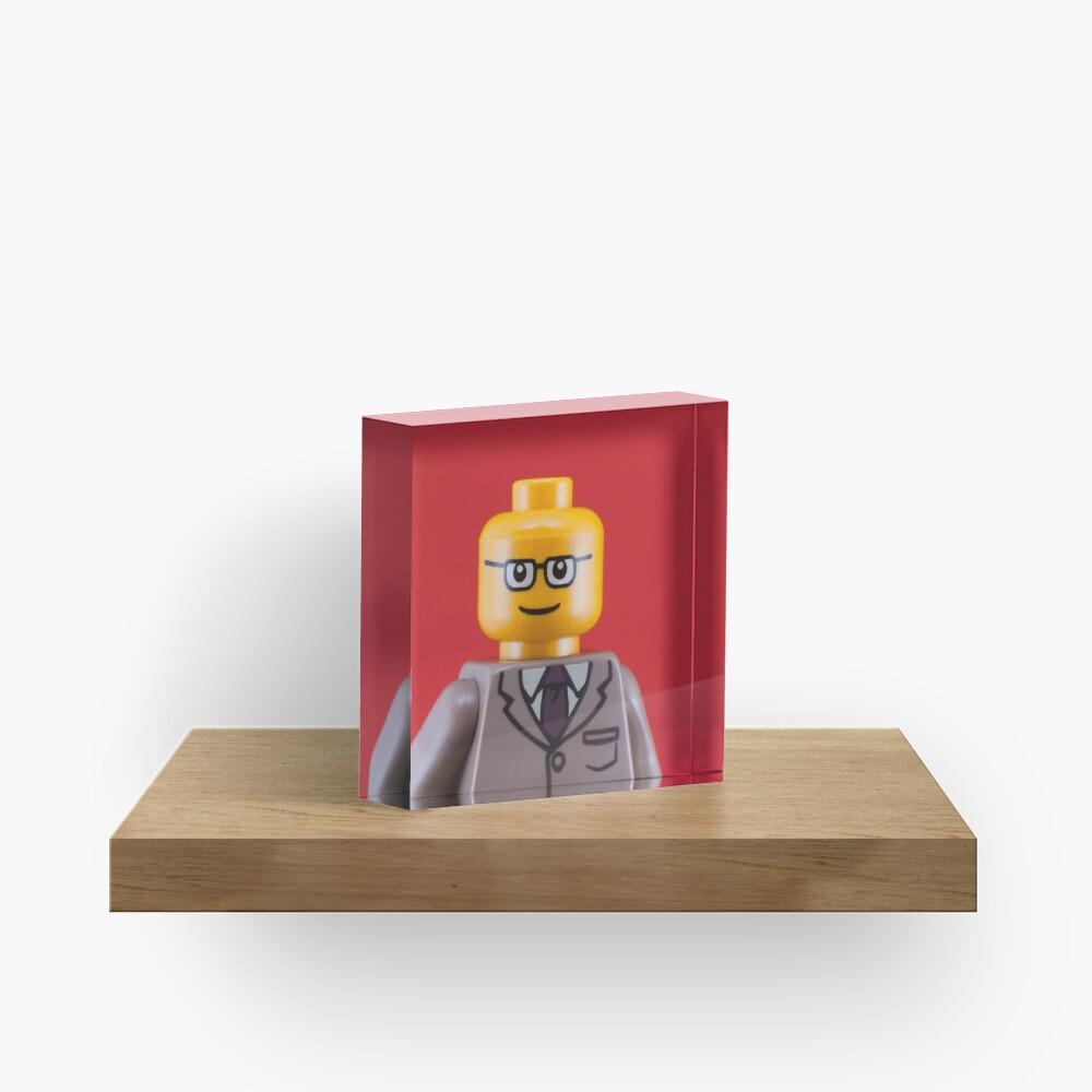 George Portrait Acrylic Block