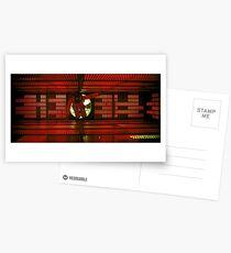 2001 - eine Weltraum-Odyssee | hal 9000 system Postkarten