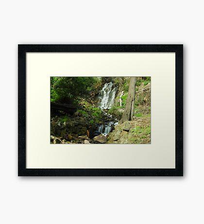 Oldaker Falls Burnie Framed Print