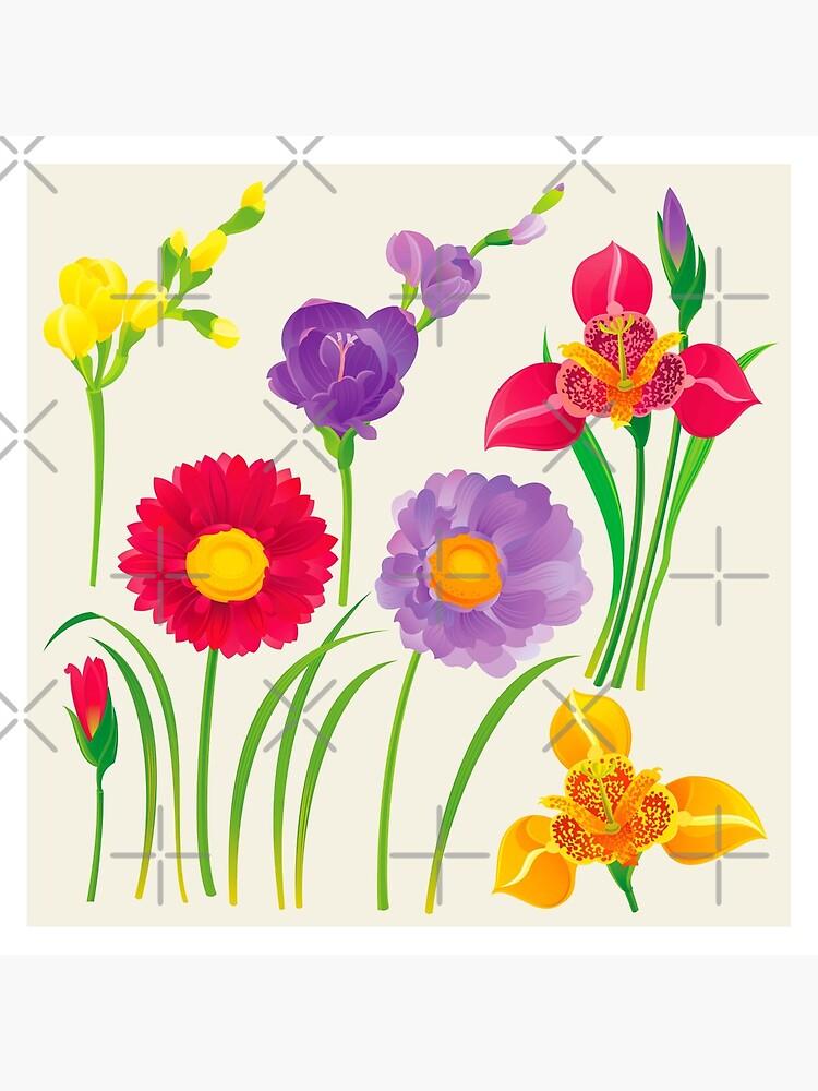 Spring Flowers by rusanovska