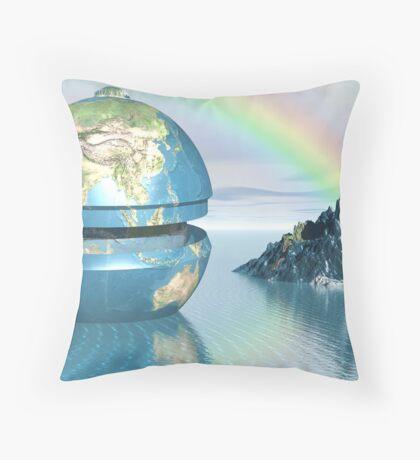 Eden Reprised Throw Pillow