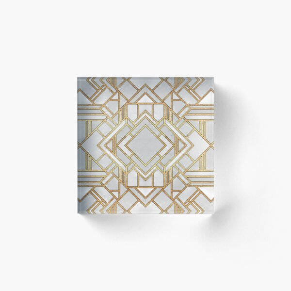 Art Deco 1 Acrylic Block