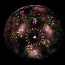 Flowery Cosmos by Leoni Mullett