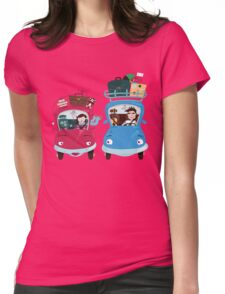 Road Meeting Womens Fitted T-Shirt