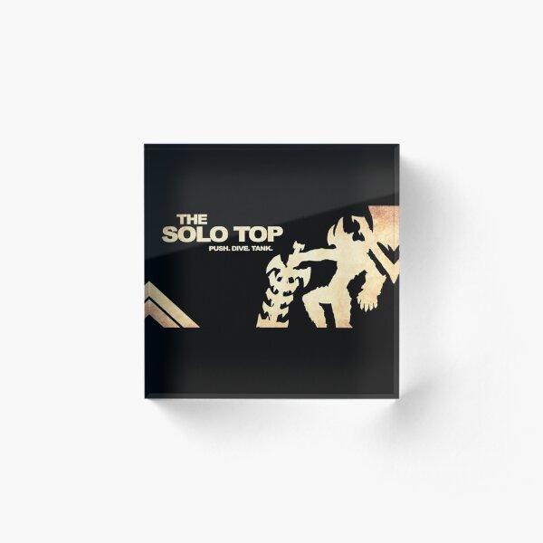 Solo Top Lane | Logo | High Quality  Acrylic Block