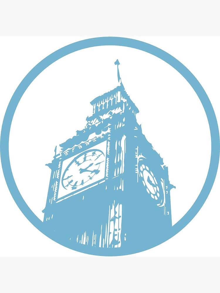 London Sticker by bigbrass15