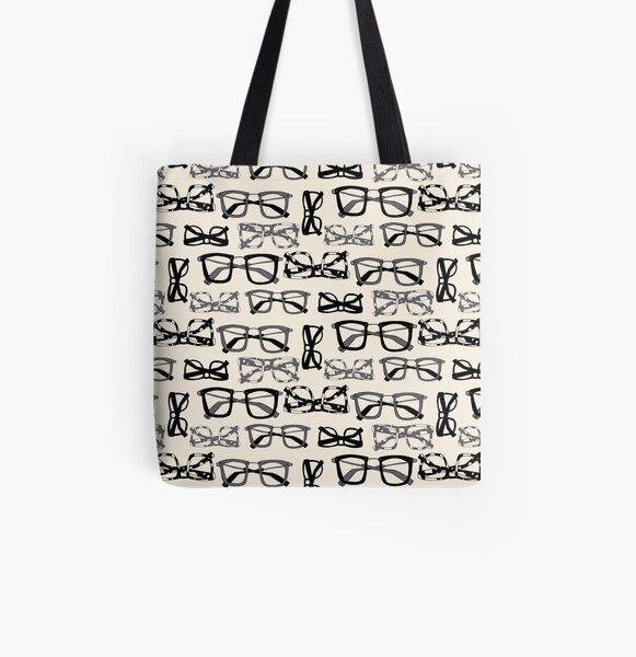 Eyeglasses  All Over Print Tote Bag