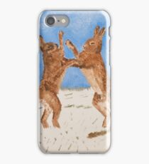 Boxing Hare iPhone Case/Skin