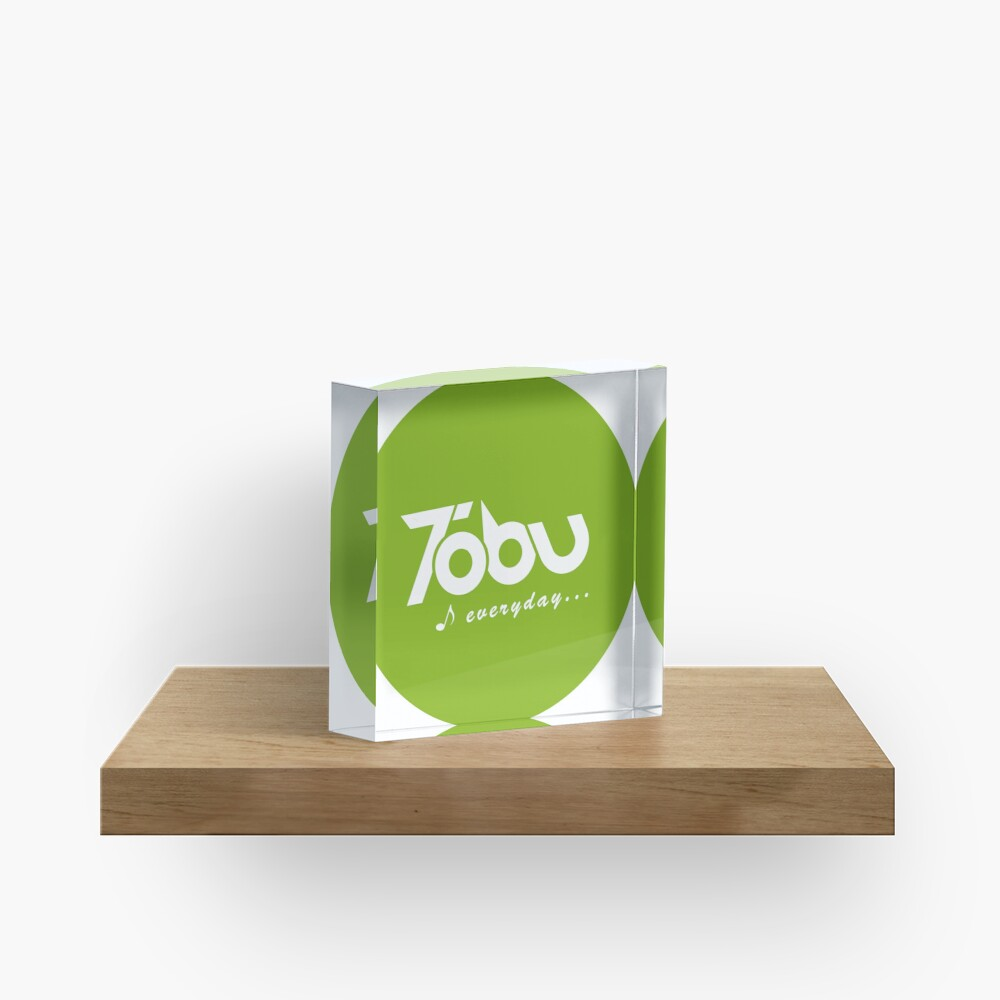 Tobu Everyday - Green Acrylic Block