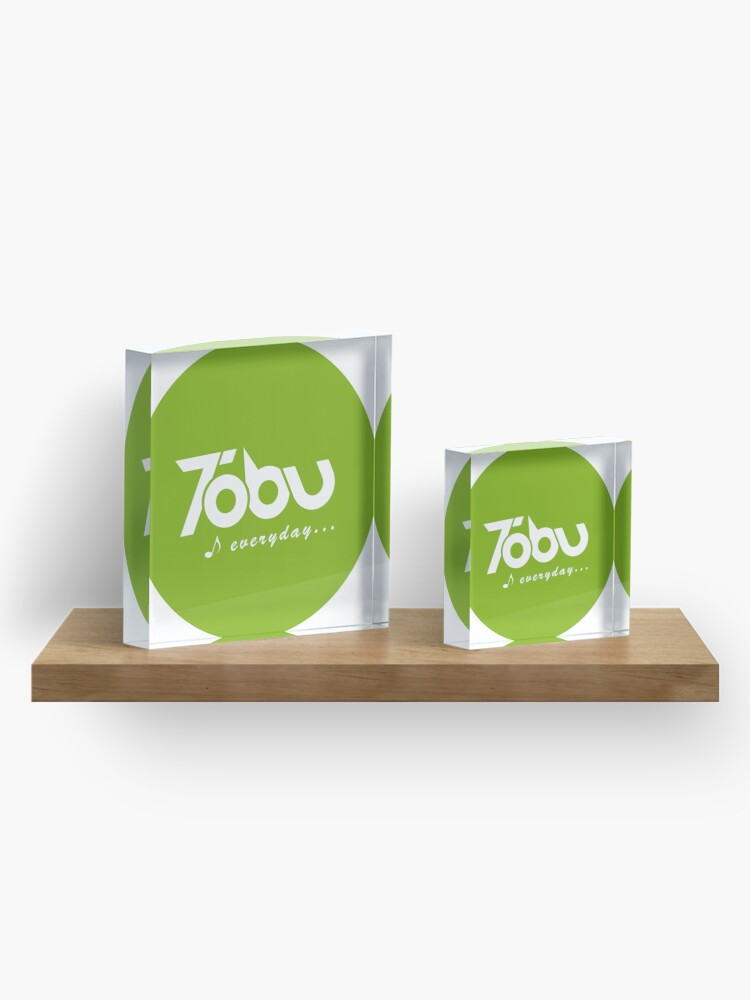 Alternate view of Tobu Everyday - Green Acrylic Block