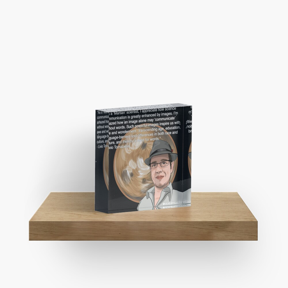 #SciComm100: Livio Tornabene Acrylic Block