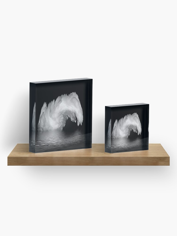 Alternate view of fountain? Acrylic Block