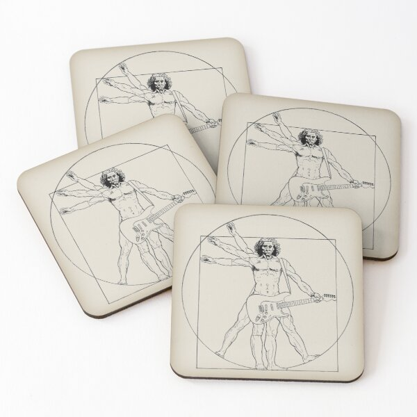 Vetruvian Rock Star  Coasters (Set of 4)
